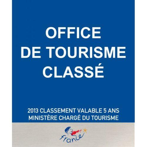 Panonceau Office de Tourisme Classé