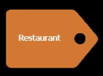 Accueil Vélo : restaurants
