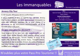 Nouvel Immanquable Pass Pro Tourisme !