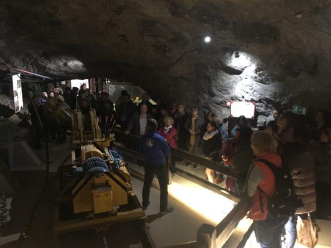 Visite des Mines de Sel de Bex lors de la Journée découverte organisée par Innovation & Développement Tourisme