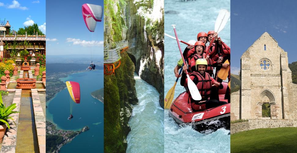 Quelques activités possibles grâce au Pass Pro Tourisme d'Innovation & Développement Tourisme