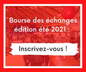 Le retour de la Bourse des échanges ! Inscrivez pour l'édition été 2021 le 27 avril !